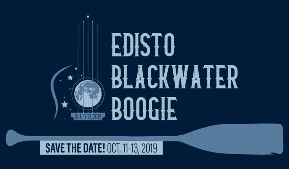 graphic promoting the Edisto Blackwater Boogie