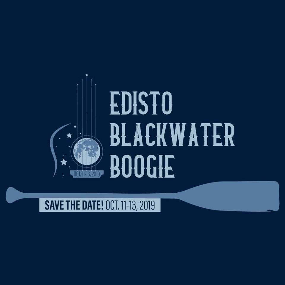 graphic promoting the Edisto Blackwater Boogie