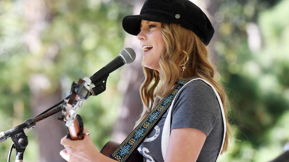 Faith Schueler and Robby Robbins perform on Friday, October 11, 2019 at the Edisto Blackwater Boogie held at Givhans Ferry State Park. By Joy Bonala