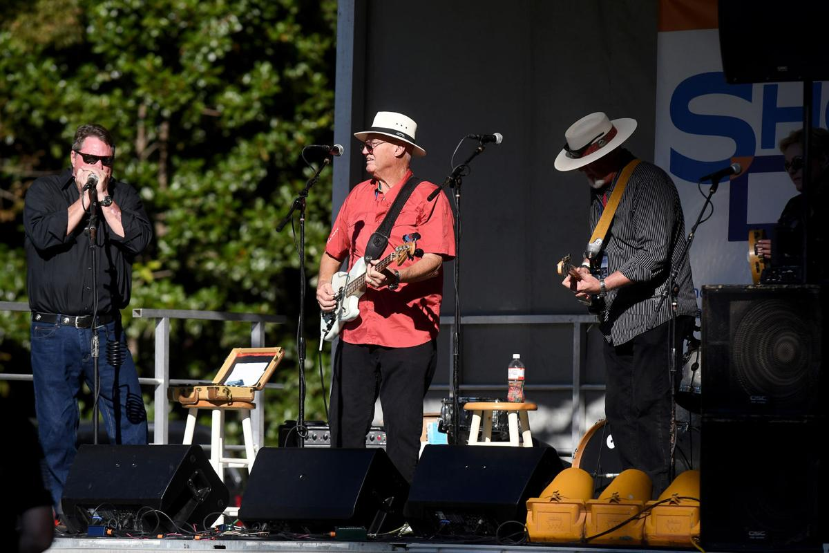 Jeep White and the BBE perform on Friday, October 11, 2019 at the Edisto Blackwater Boogie held at Givhans Ferry State Park. By Joy Bonala