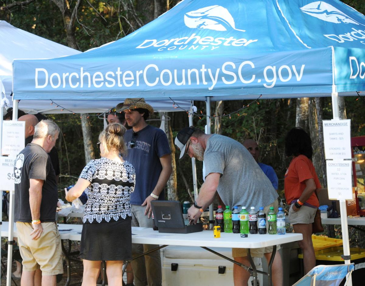 Dorchester County offered concessions and T-shirts at its booth. By Roger Lee